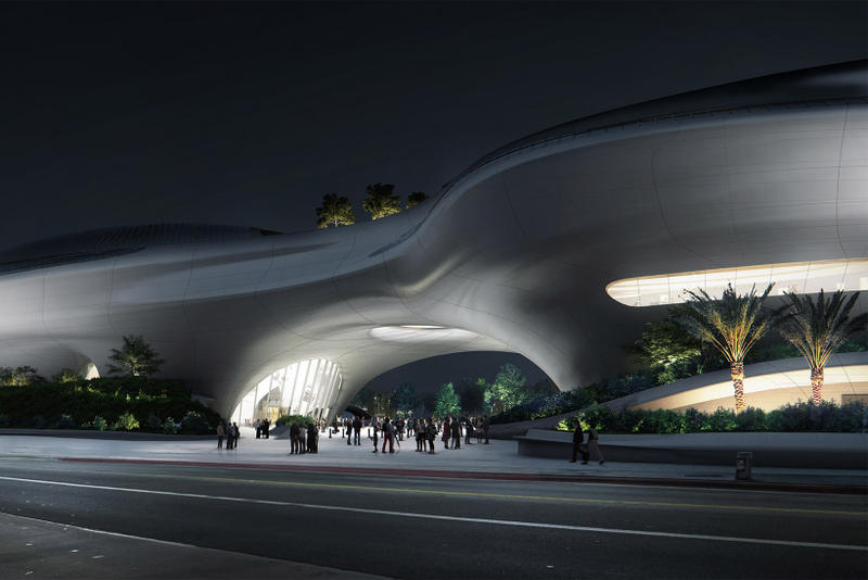 George Lucas Las Angeles Museum MAD Renders break ground march 2018 construction