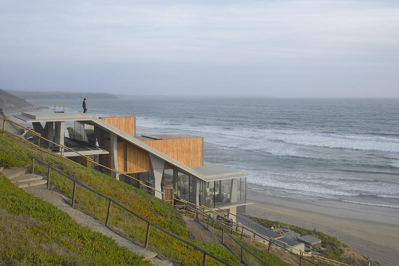 Ghat House Max Núñez Arquitectos living houses chile design architecture