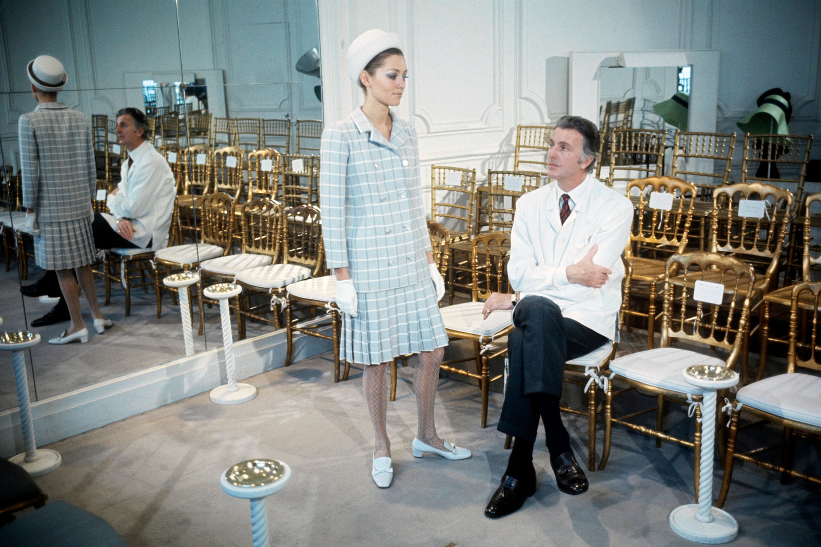 Givenchy Hubert de house design moments legacy inspiration audrey hepburn jackie kennedy bettina graziani pioneer tribute 2018 march 10 death