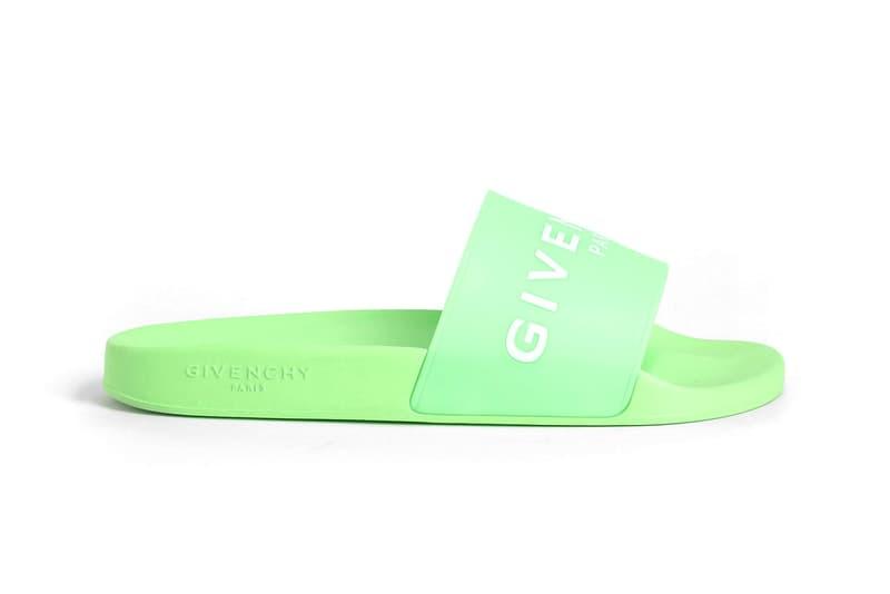 Givenchy Slides Sandals Spring Summer 2018 release footwear