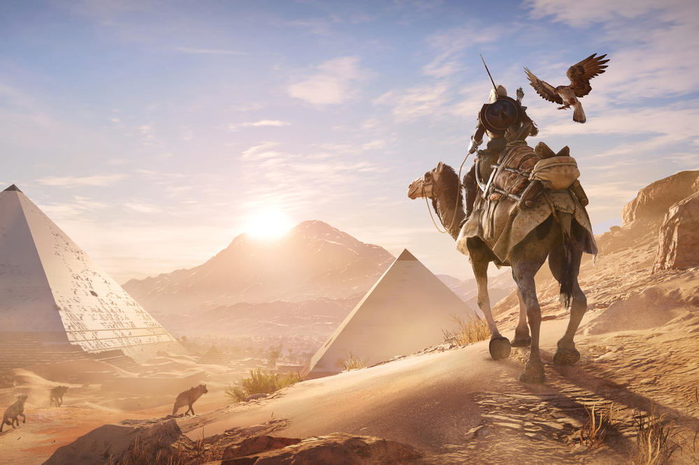 Ubisoft Assassins Creed Origins Google Agones Cloud Server gaming online