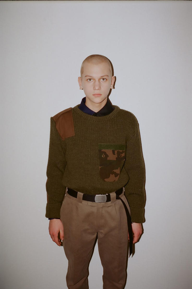 Gosha Rubchinskiy 032c magazine fall/winter 2018 interview collection runway presentation russia adidas looks styling