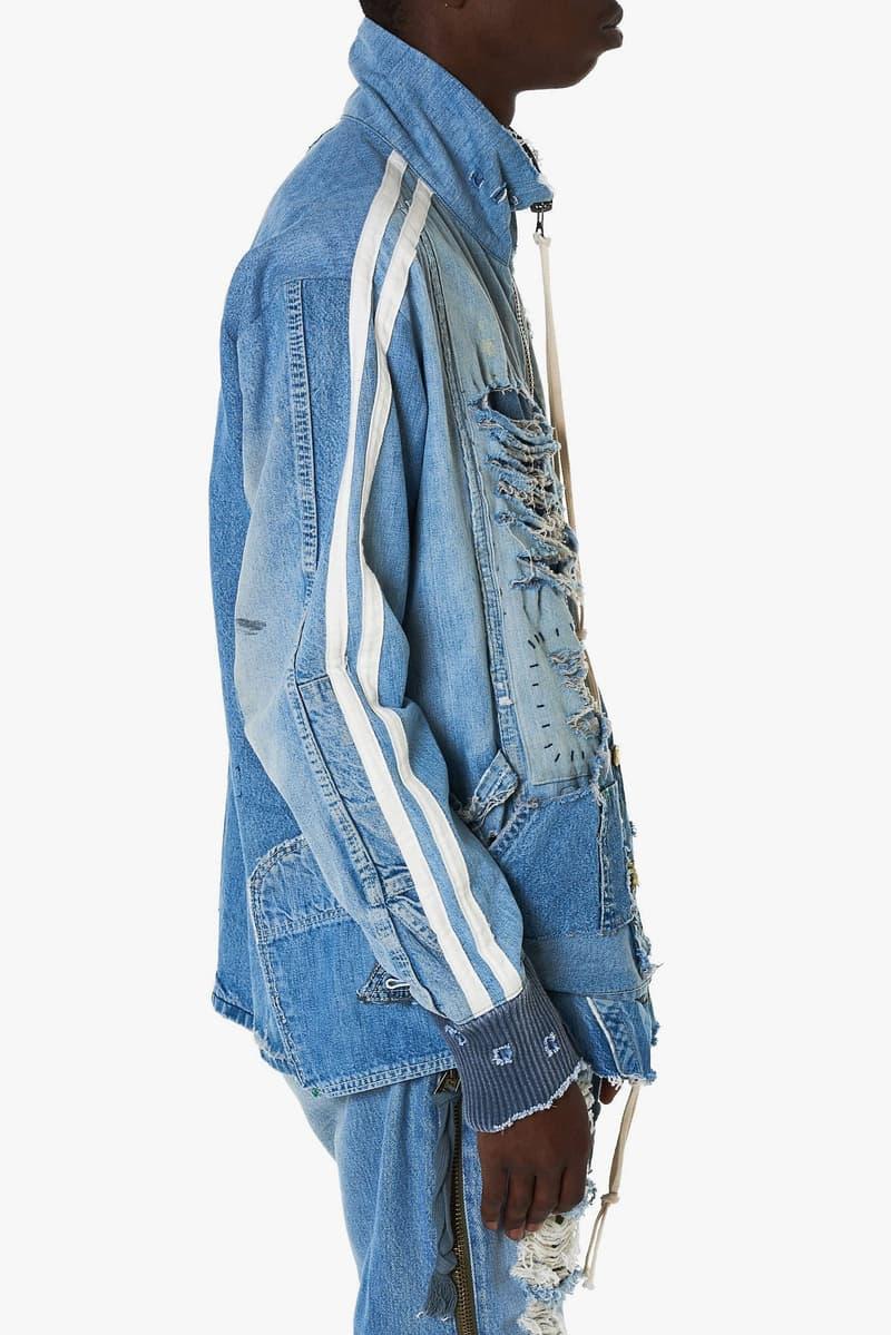 Greg Lauren Spring Summer 2018 Collection Track Jackets release info