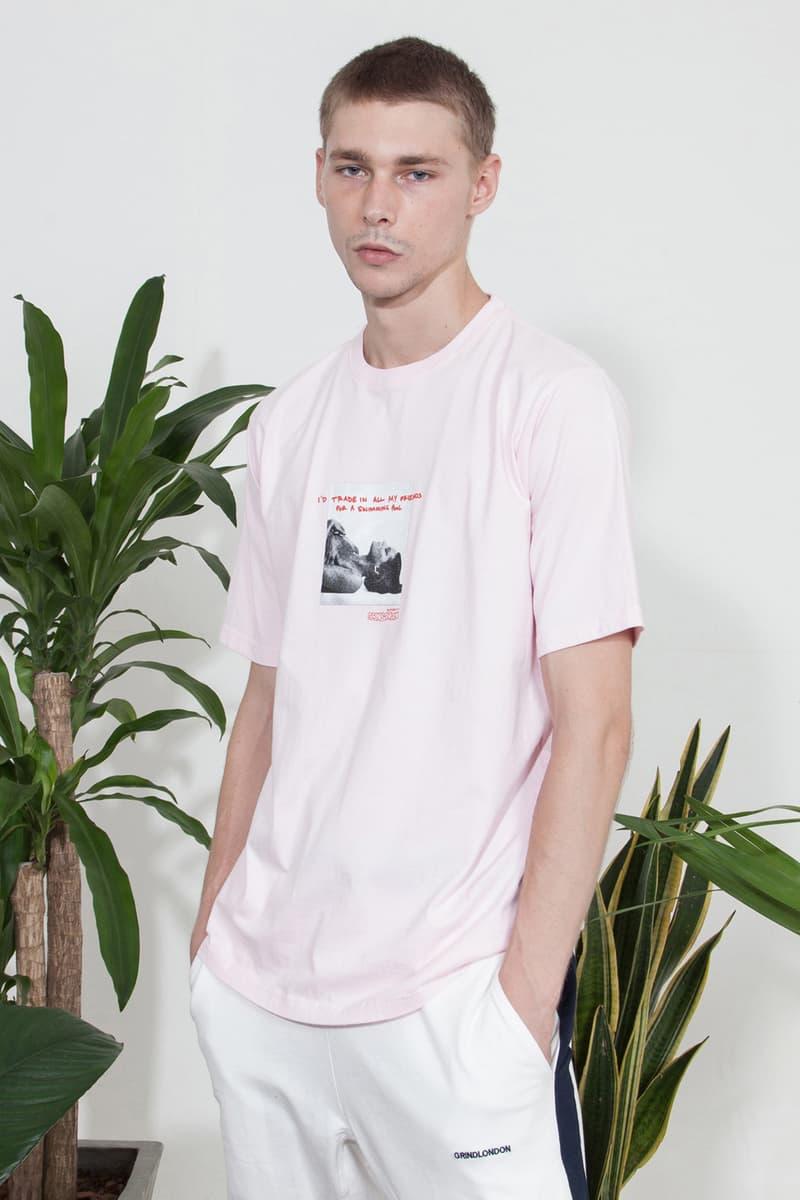Grind London Wellness Spring/Summer 2018 fashion streetwear British label lookbooks Collections