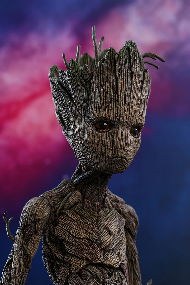 Hot Toys Groot Rocket Guardians of the Galaxy Avengers: Infinity War