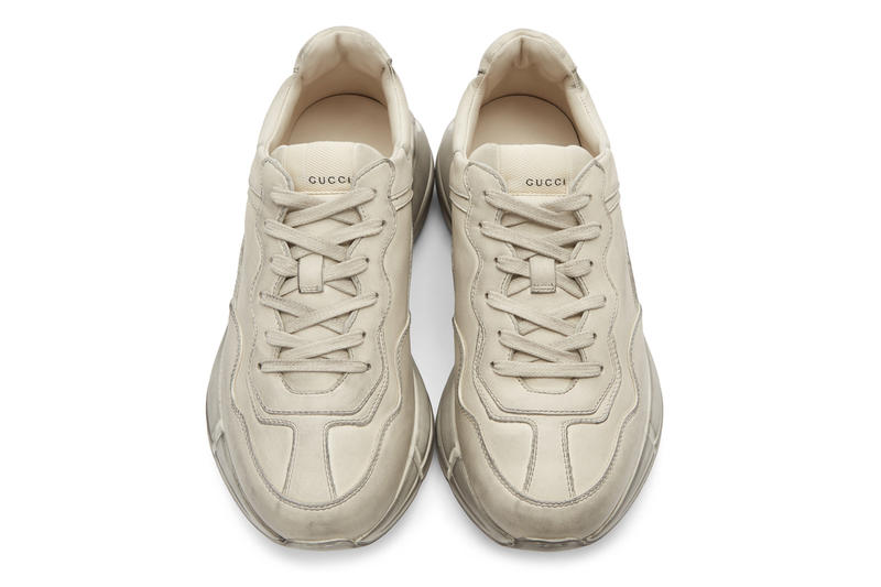 Gucci Rhyton Leather Sneaker White release footwear sneakers