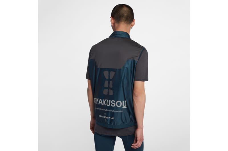 GYAKUSOU Spring Summer 2018 Collection nikelab jun takahashi release jackets shirts pants