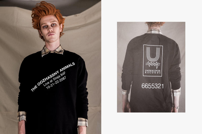HBX UNDERCOVER Spring/Summer 2018 Collection Editorial T-Shirts Sweatshirt Vest Jacket Pants Jeans Caps Hat Socks Backpack