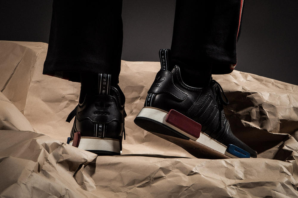 Hender Scheme adidas Originals HBX Superstar NMD R1 Micropacer On Foot Look Sneakers Artisan Footwear Trainers Japan Tokyo