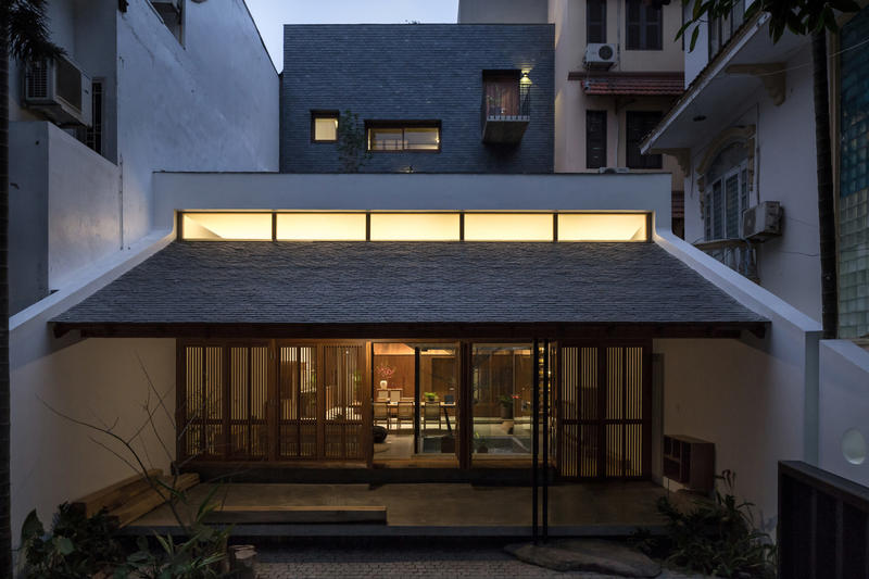 Hopper House Vietnam AHL Architects living home architecture design