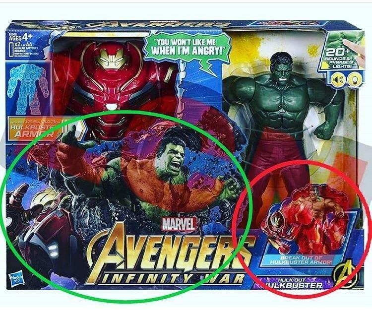 Hulkbuster Avengers Infinity War The Hulk Bruce Banner Iron Man Tony Stark Marvel Toys Spoiler Movies