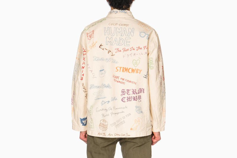 HUMAN MADE Spring Summer 2018 Collection Memorial Jacket release info