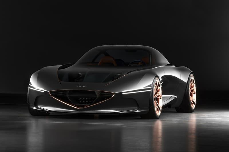 Hyundai Genesis Essentia Concept Car New York Auto Show Nyc Luxury Two Seat Sports Electric