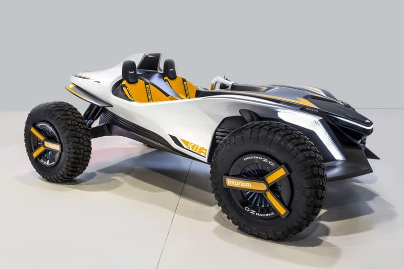 Hyundai Kite Concept Dune Buggy Jet Ski Concepts Electric Vehicles Geneva Motor Show 2018