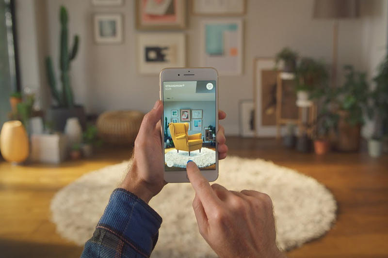 IKEA Future Augmented Reality App Plans