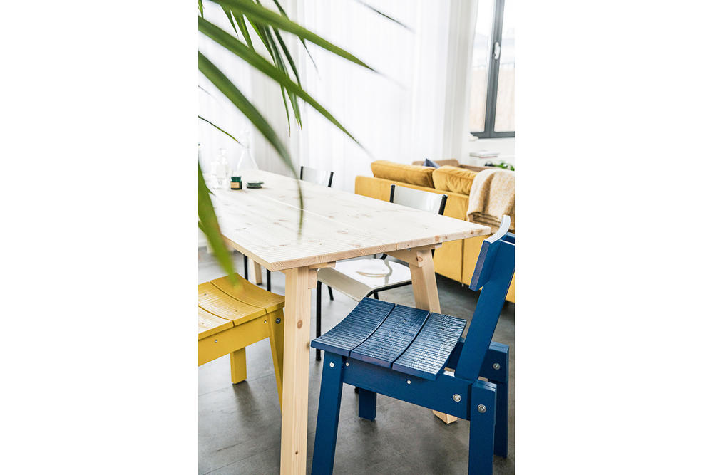 IKEA Piet Hein Eek Industriell Collaboration Furniture Collection Wooden Timber Chairs Tables Benches Cushions Glasses Accessories Ornaments Release Date Info Pricing Cheap Furniture