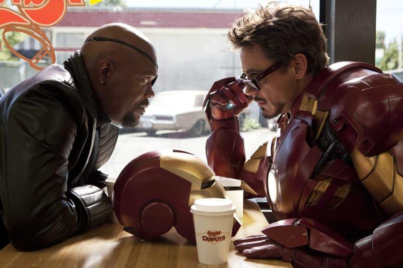 Iron Man Post-Credit Scene Was a Lark Marvel Favreau Samuel L. Jackson Tony Stark Nick Fury Avengers Infinity Theater Movie Film Critic