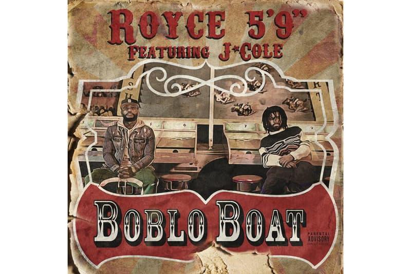 "J Cole Royce Da 5'9"" Boblo Boat"