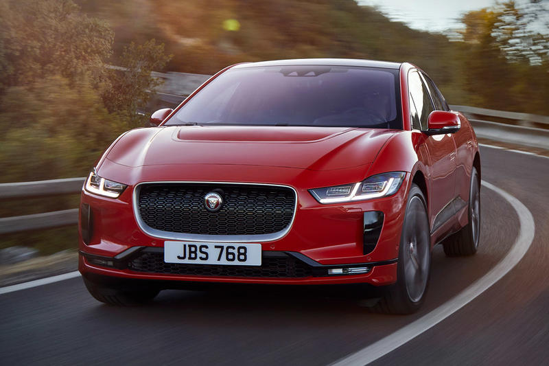 Jaguar I-Pace Electric SUV Tesla Model X Automotive Cars Infotainment System