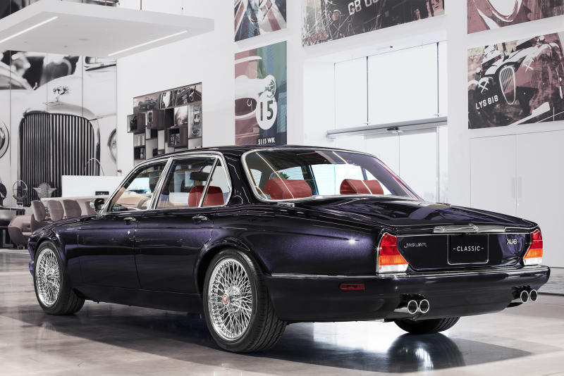Jaguar XJ Series III Custom Iron Maiden Nicko McBrain Purple cars