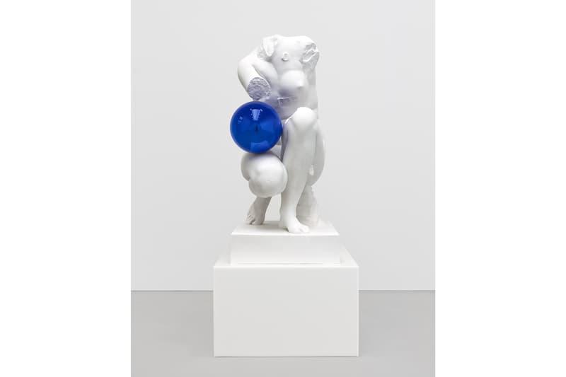 jeff koons david zwirner art basel hong kong art artwork exhibit exhibition show sculpture paintings installations