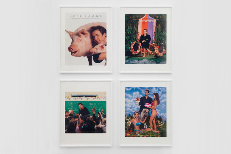 jeff koons david zwirner art basel hong kong art artwork exhibit exhibition show sculpture paintings installations