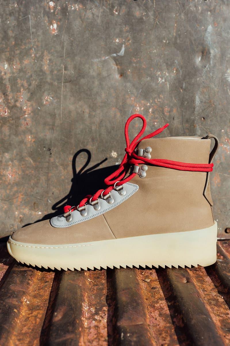 Jerry Lorenzo Fear of God 2018 footwear jungle sneaker hiking sneaker basketball sneaker release info date drops
