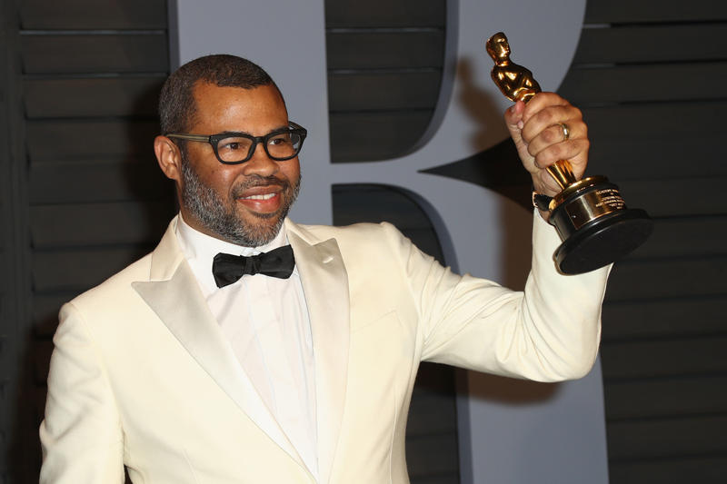 Jordan Peele Oscar Academy Awards Get Out Chair Original Screenplay