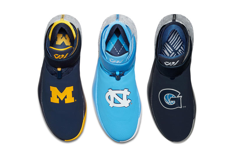 Jordan Why Not Zer01 March Madness pack unc north carolina michigan georgetown 2018 march 9 release date info sneakers shoes footwear russell westbrook