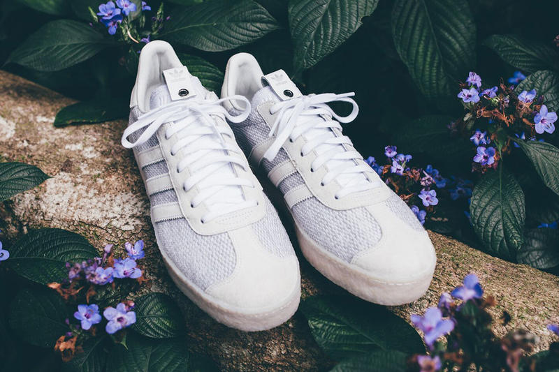 JUICE adidas Consortium Gazelle collaboration march 17 24 2018 release date info drop sneakers shoes footwear