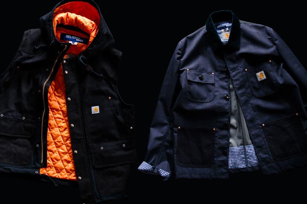 Junya Watanabe MAN Spring/Summer 2018 Release date the north face carhartt levi's karrimor backpack jacket haven editorial