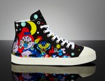 Just Cavalli Unveils Graffiti Sneaker Collaboration With Artist Xena