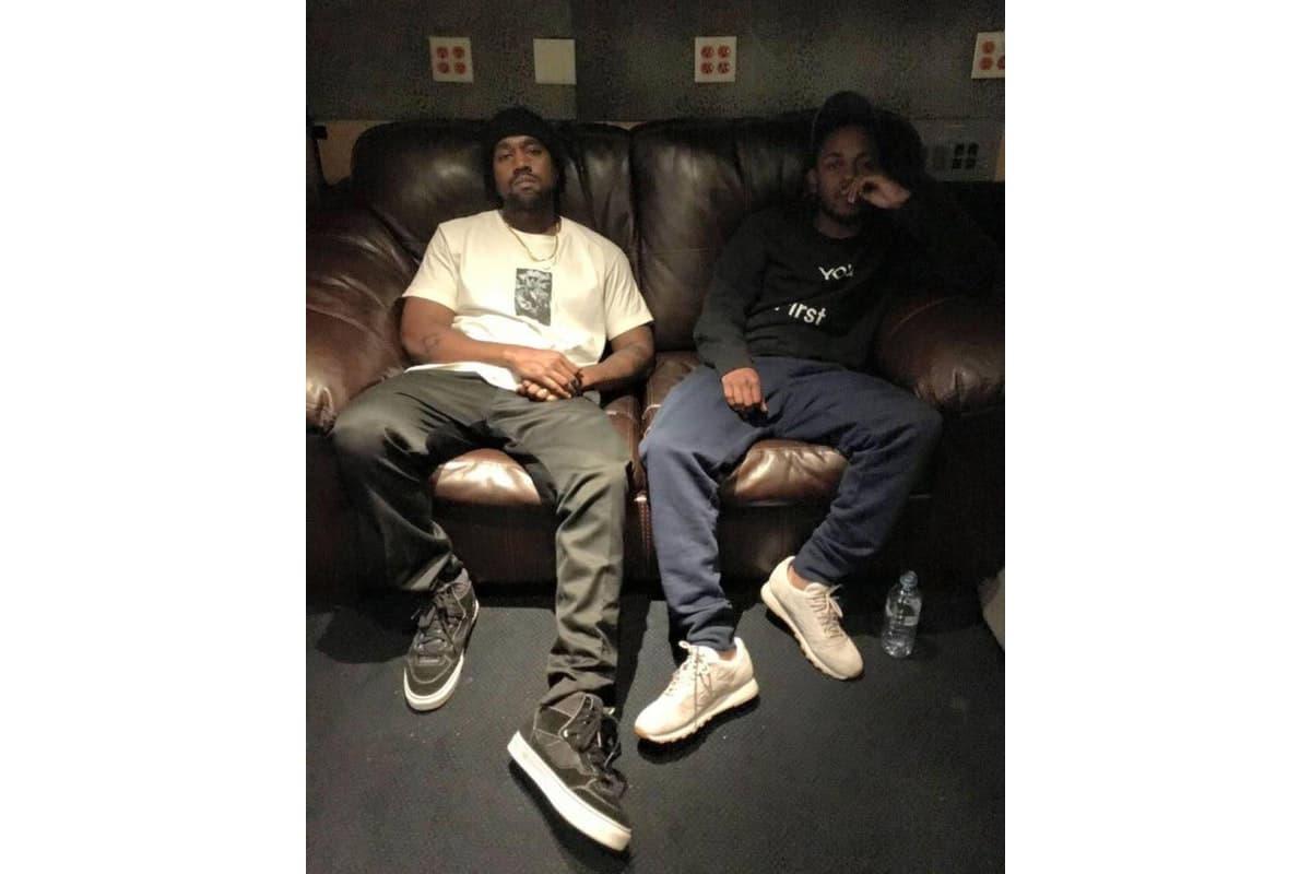 Kanye West & Kendrick Lamar Appear on Two Unreleased Tracks