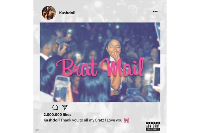 Kash Doll Brat Mail mixtape Scrilla Natasha Mosley Detroit