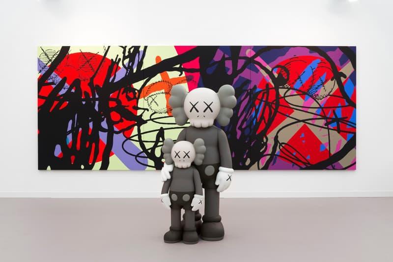 KAWS Perrotin Gallery Tokyo Hong Kong Art Artwork Exhibitions Exhibits