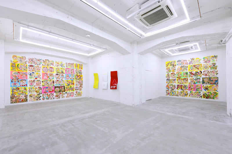 keiichi tanaami oliver payne perfect cherry blossom nanzuka gallery tokyo japan art artworks paintings