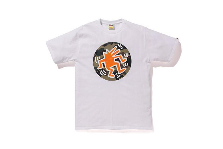 keith haring bape a bathing ape streetwear apparel clothing art artwork graffiti street art