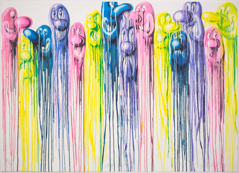 kenny scharf sloppy melt lithograph