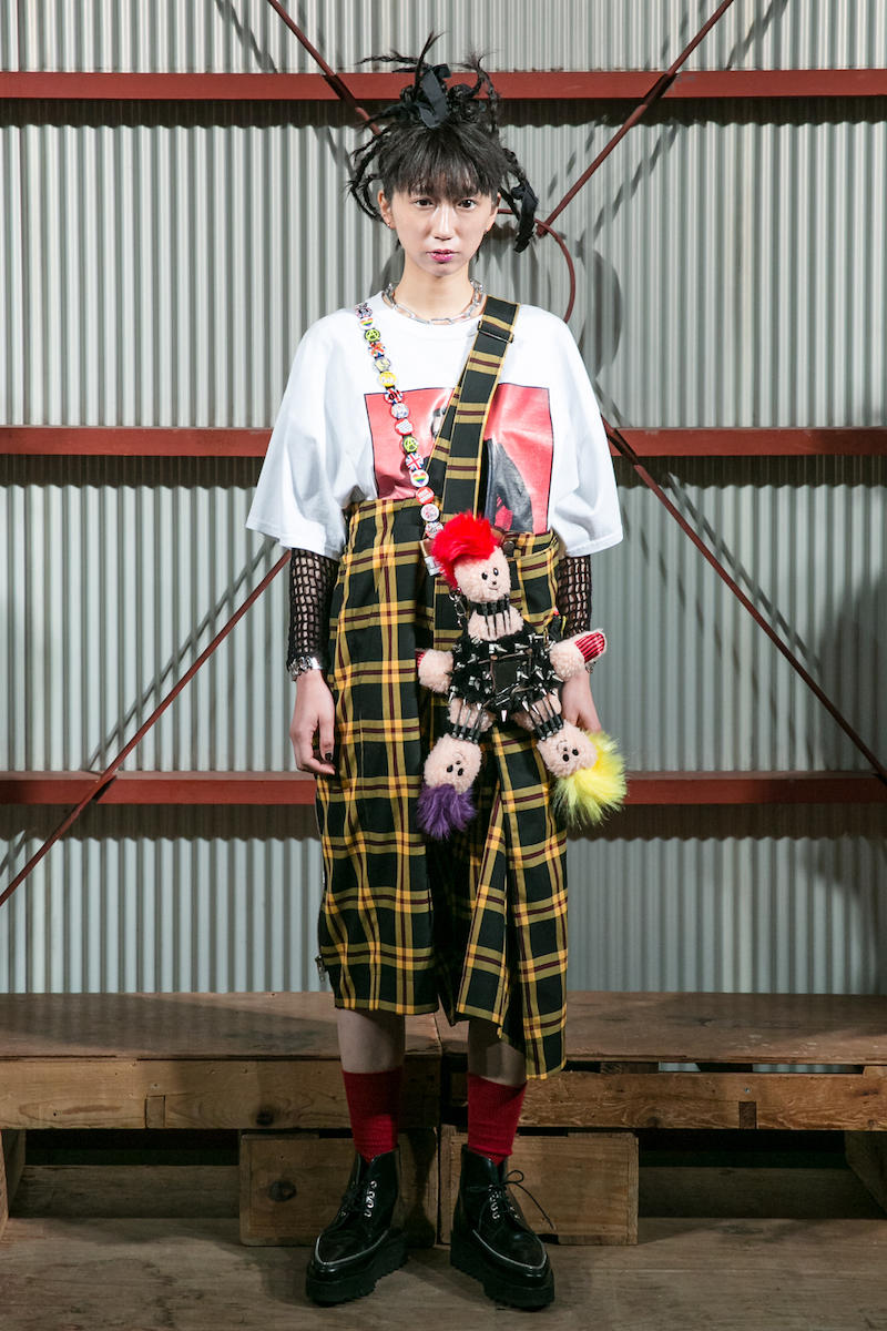 KIDILL Fall Winter 2018 Collection runway show tokyo fashion week