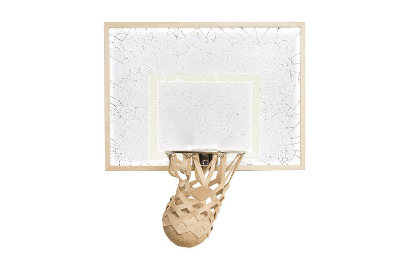 KILLSPENCER Shattered Dreams Mini Basketball Kit Michael Jordan Chrome Lexan Glass Maple