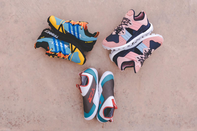 KITH adidas Terrex EEA Collection Utah Collection Ronnie Fieg footwear 2018 release dates march