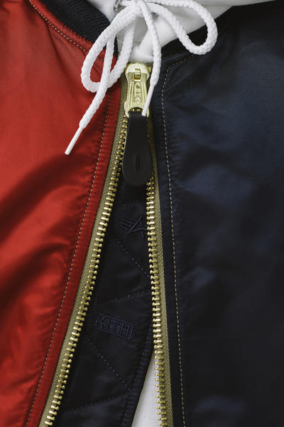 KITH Military Collection Lookbook fashion 2018 alpha industries makavelic