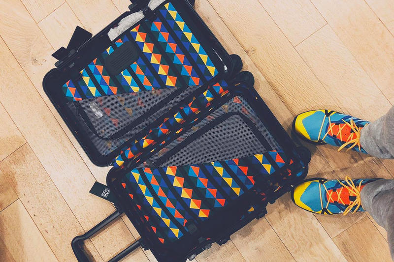 KITH Tumi luggage ronnie fieg EEA teaser collection release date