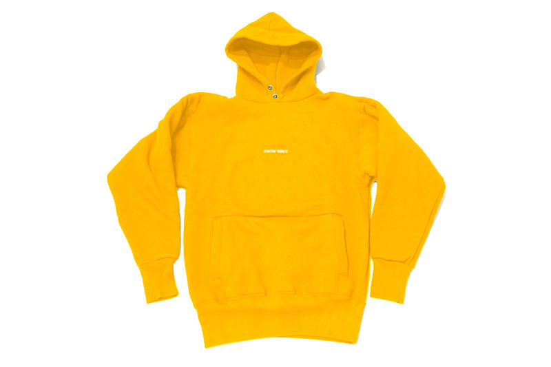 KNOW WAVE Up By Three Pieces pullover hoodies sweatpant fashion yellow red green
