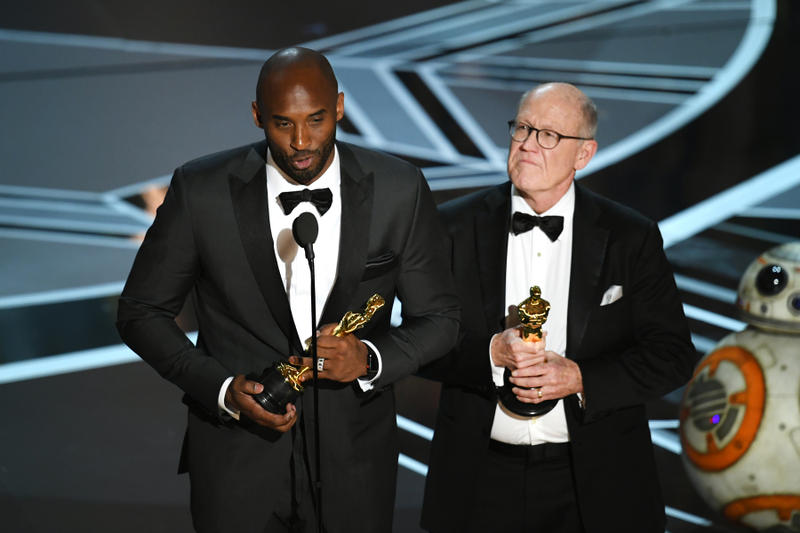 Kobe Bryant Dear Basketball Oscar Win Best Animated Short Film