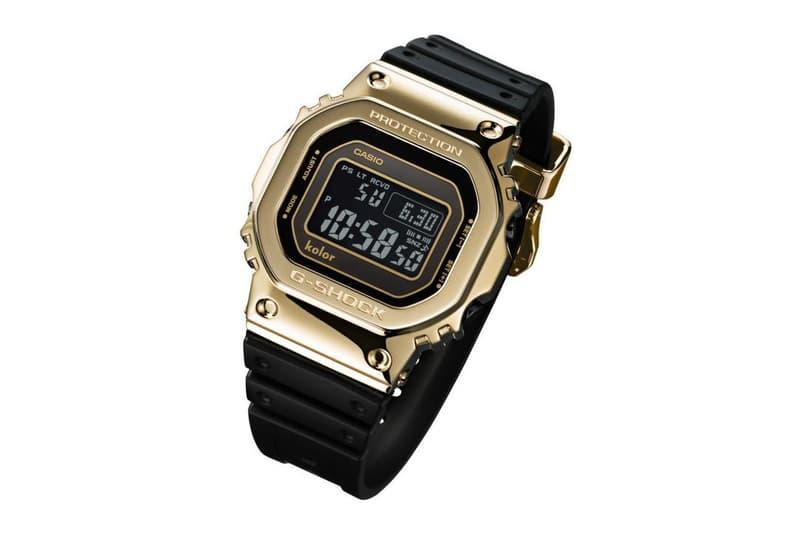 111ad7e1b0f kolor G-Shock GMW-B5000 Watch black gold GMW-B5000KL 35th anniversary