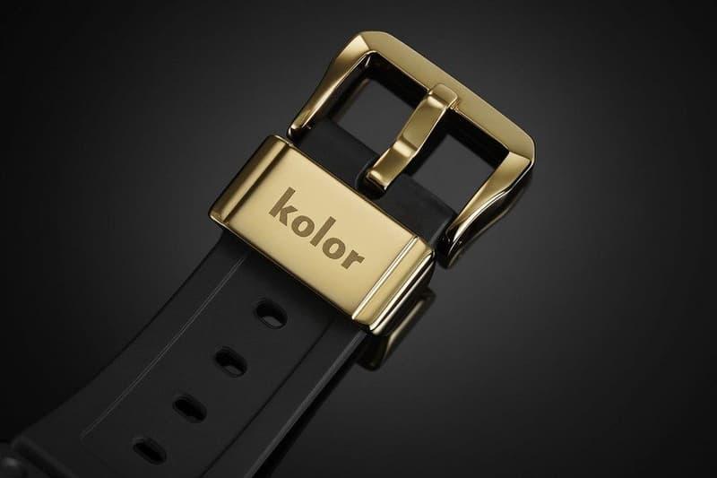 kolor G-Shock GMW-B5000 Watch black gold  GMW-B5000KL 35th anniversary