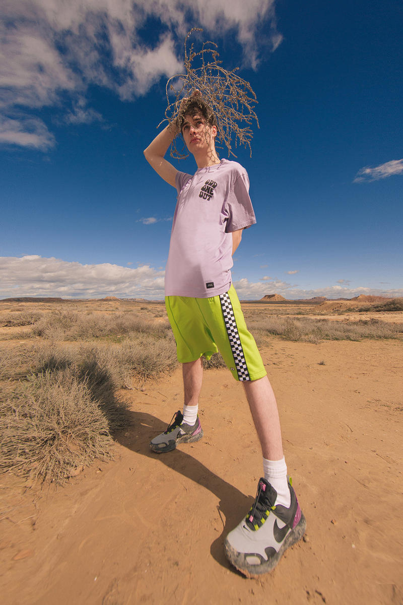 Lazy Oaf Everything Is Different Summer 2018 lookbook London menswear graphic prints t-shirts hoodies jerseys