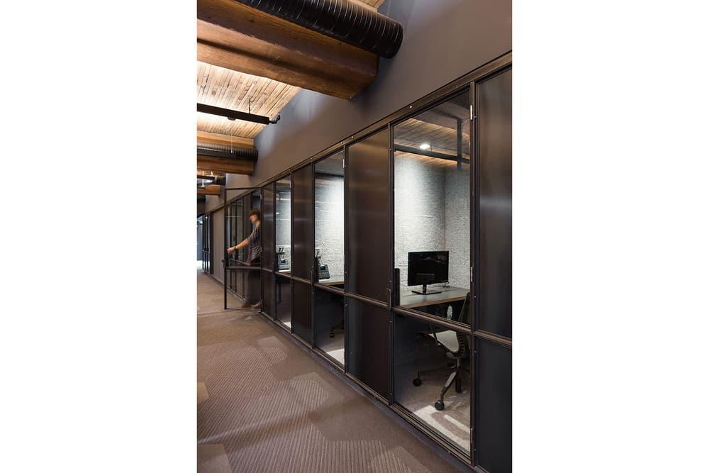 Leckie Studio Slack Headquarters Vancouver Architecture Warehouse Industrial Tech