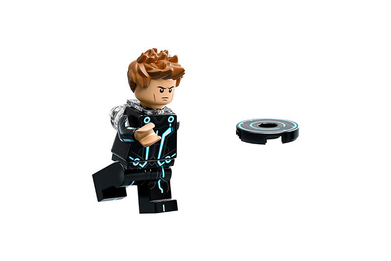 Lego Disney Tron Legacy Movies Toys Models Design Kids Light Cycles